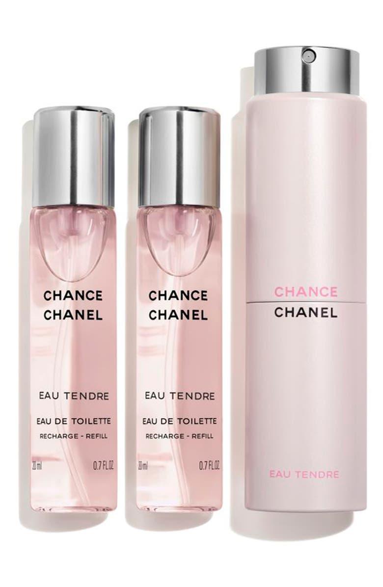 CHANEL CHANCE EAU TENDRE Eau de Toilette Twist & Spray, Main, color, NO COLOR