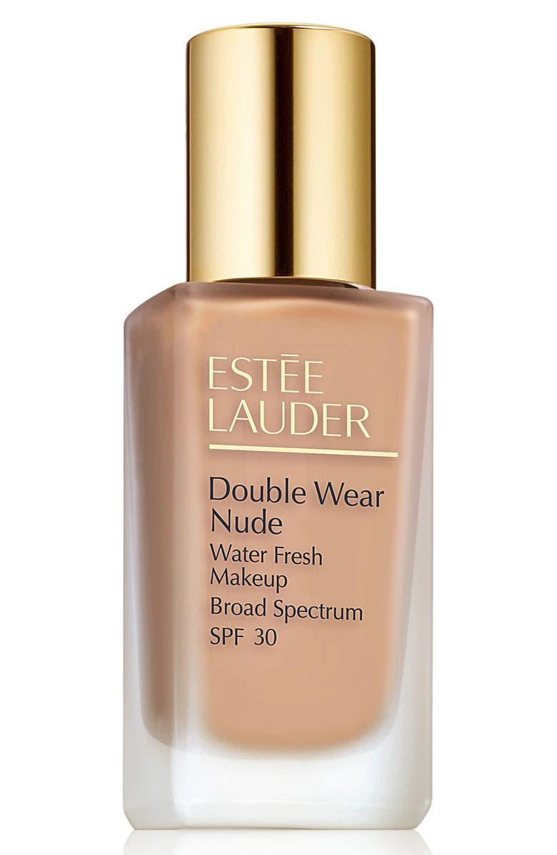 ESTÉE LAUDER Double Wear Nude Water Fresh Makeup Foundation Broad Spectrum SPF 30, Main, color, 2C3 FRESCO