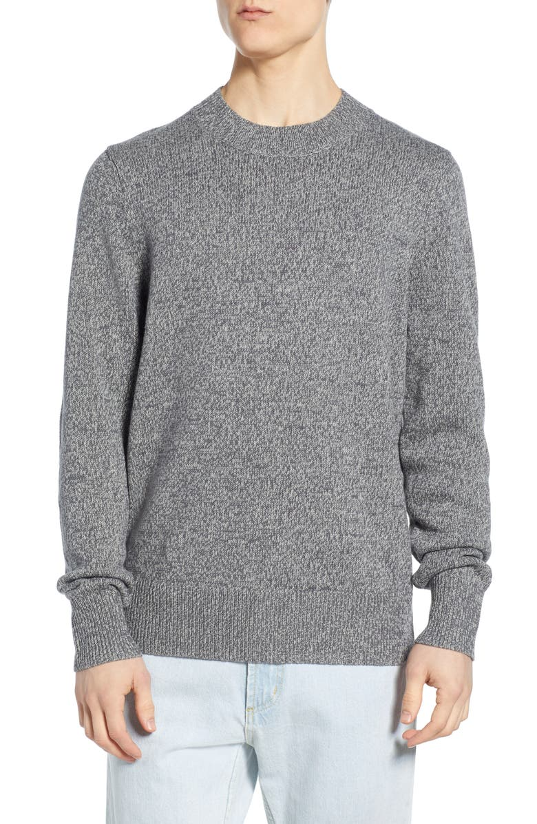 BP. Crewneck Sweater, Main, color, GREY TWISTED MARL