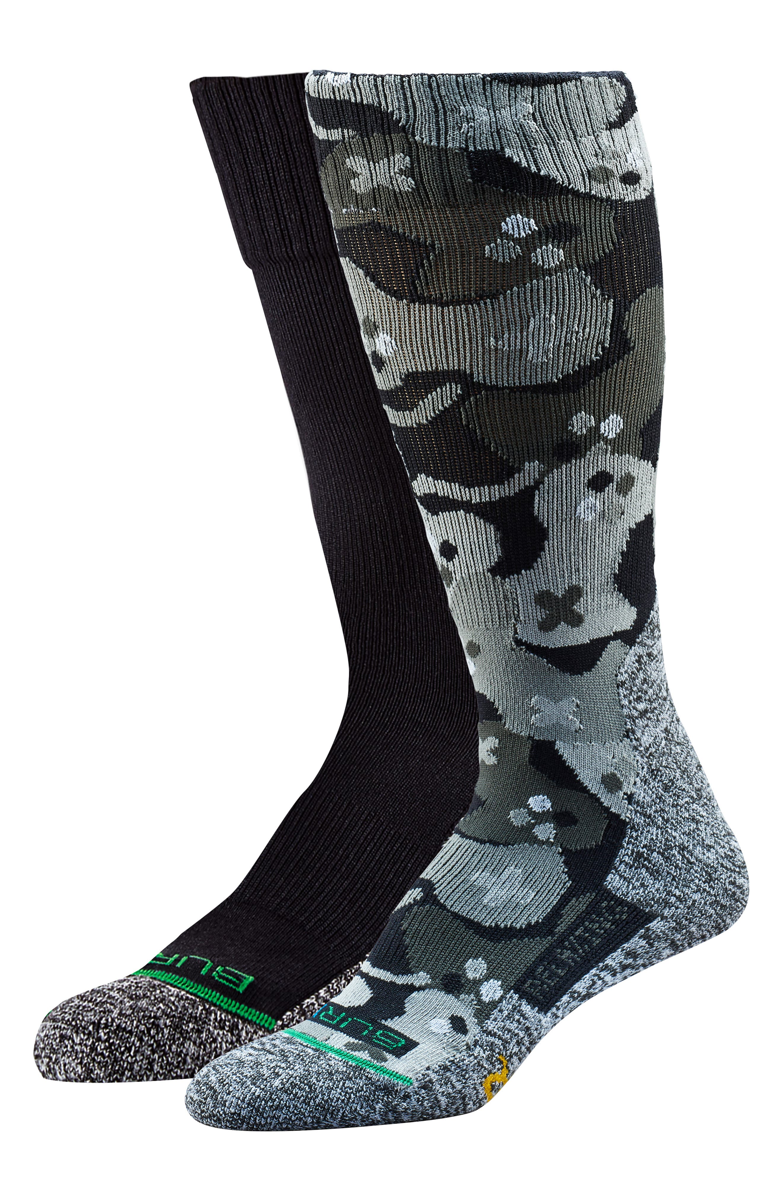 Assorted 2-Pack Relaxing Calf Crew Socks