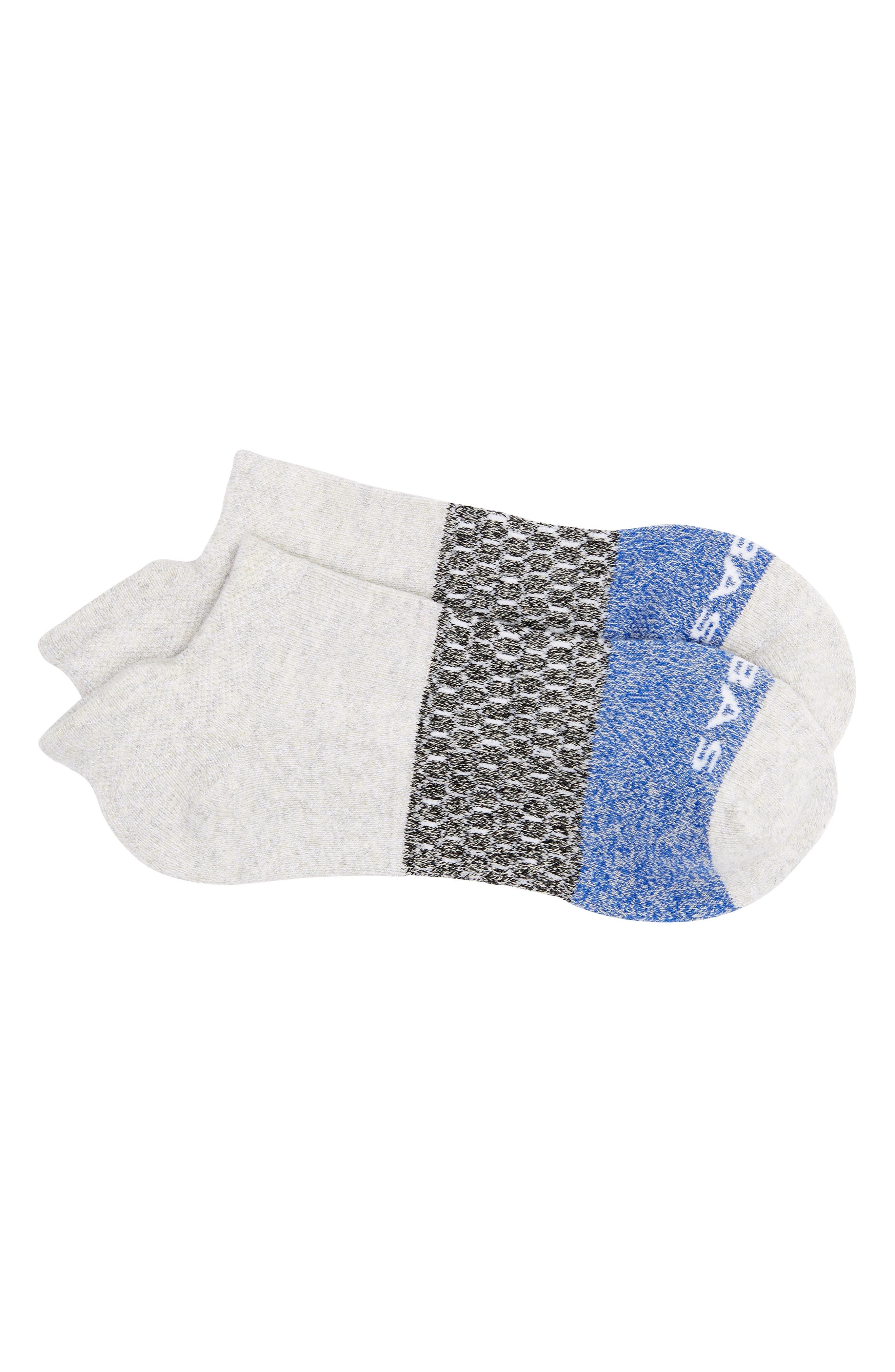 Tri Block Marl Ankle Socks