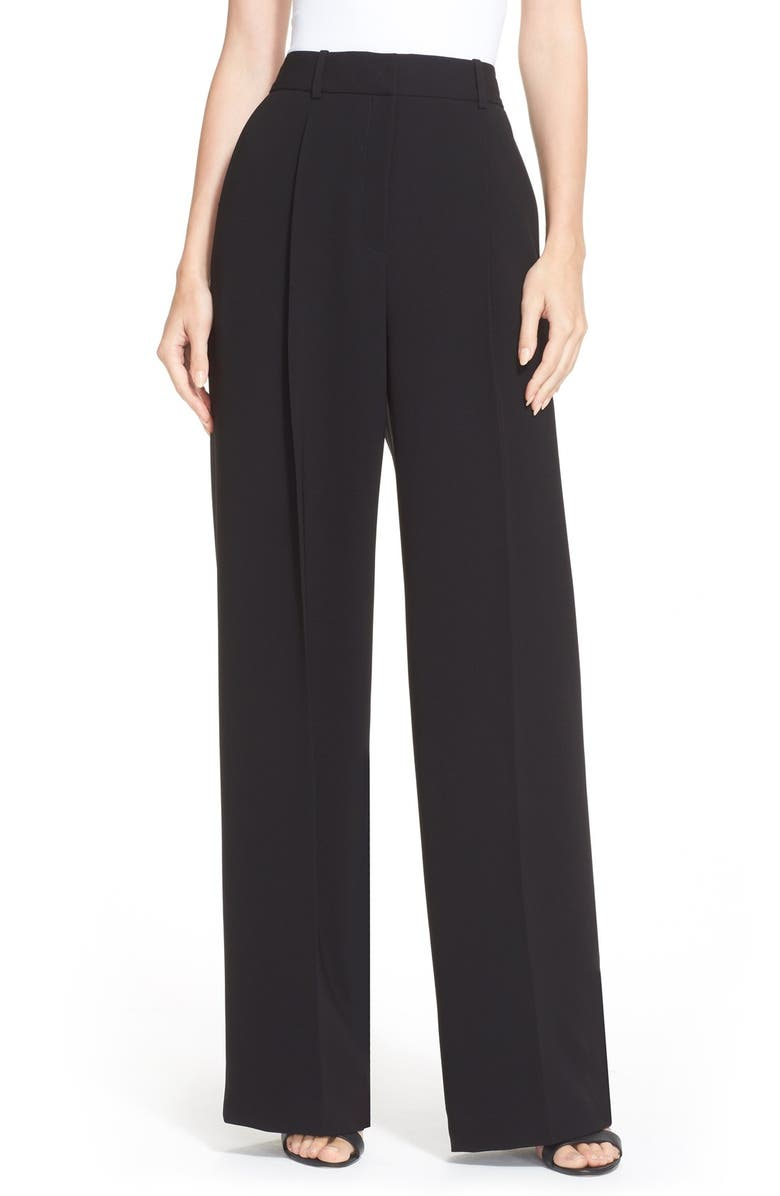 0bd4edd7e0a Theory 'Adamaris' High Waist Wide Leg Pants | Nordstrom