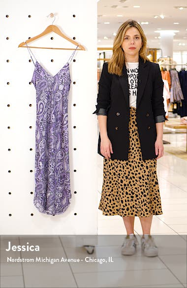 Print Silk Slipdress, sales video thumbnail