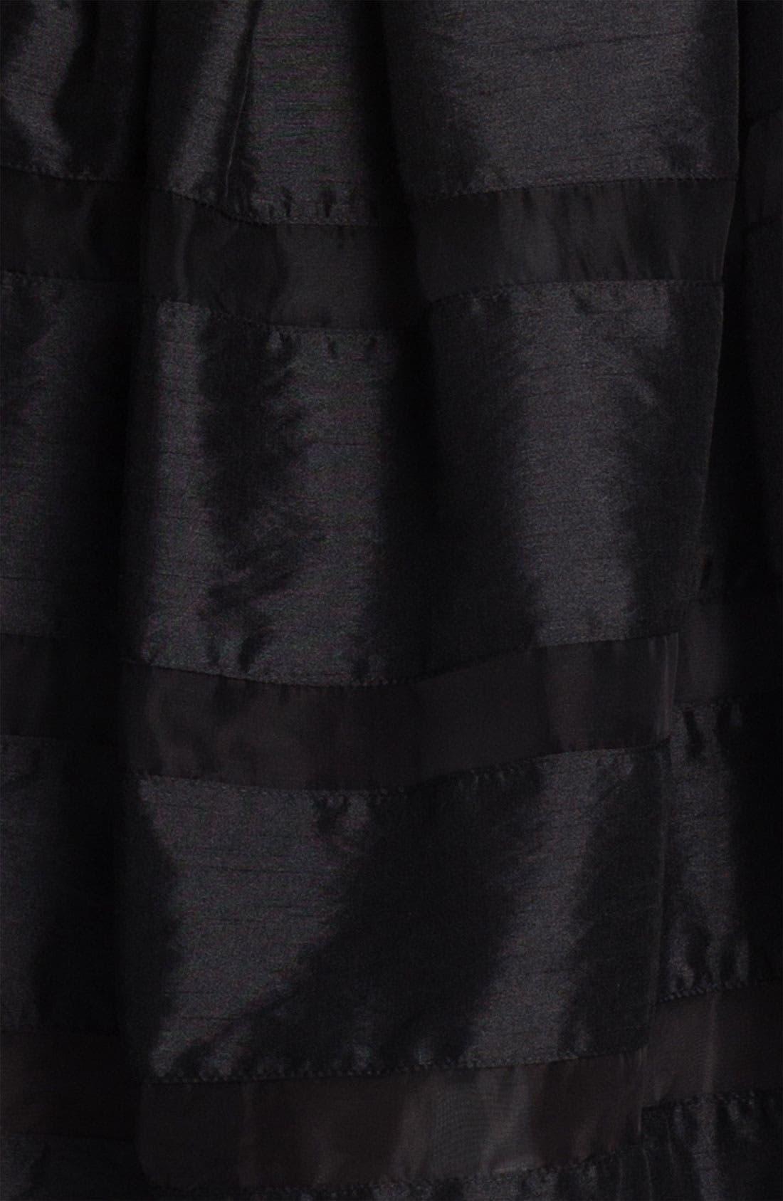 ,                             Tonal Stripe Fit & Flare Dress,                             Alternate thumbnail 2, color,                             001