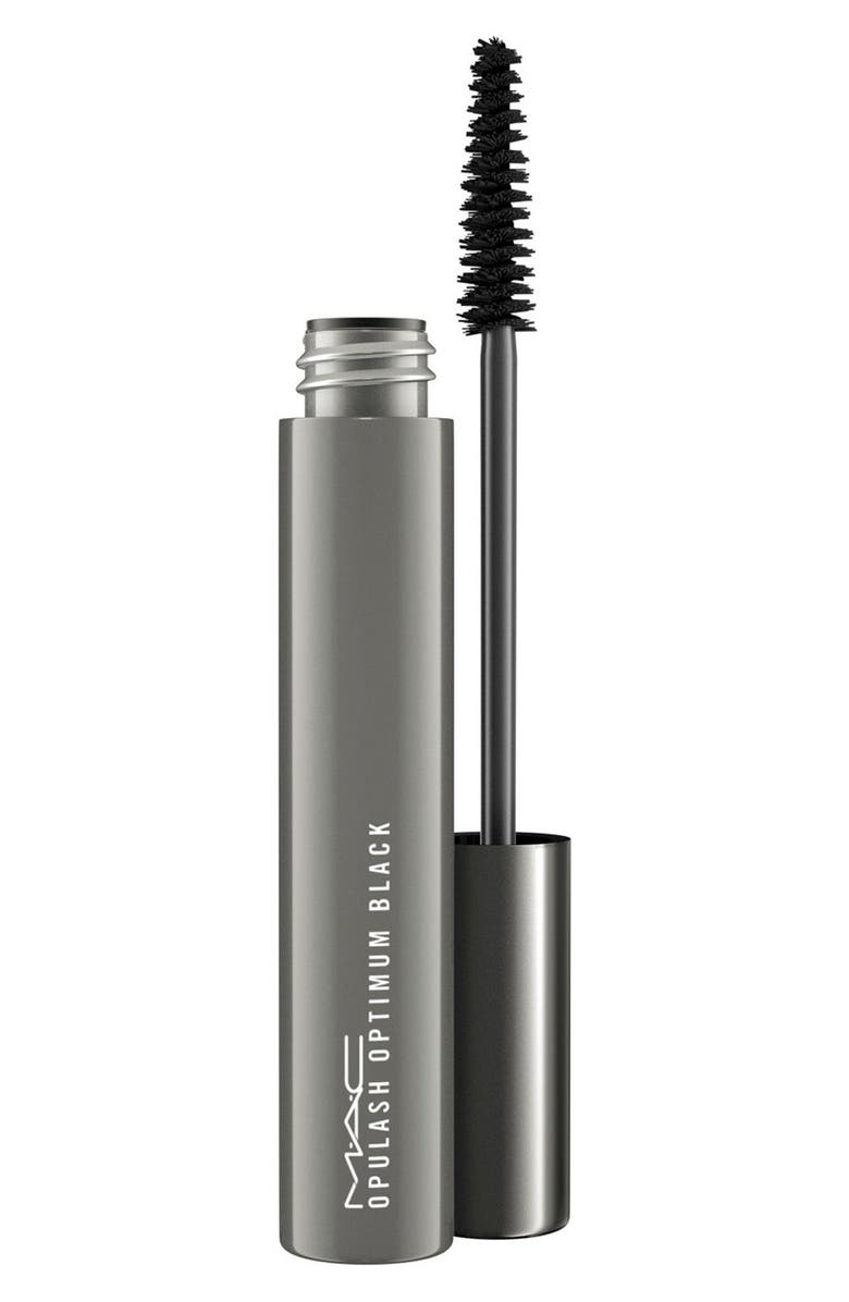 MAC COSMETICS MAC Opulash Optimum Black Mascara, Main, color, 002