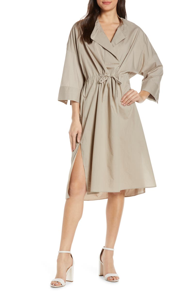 FRENCH CONNECTION Adoni Poplin Dress, Main, color, 241
