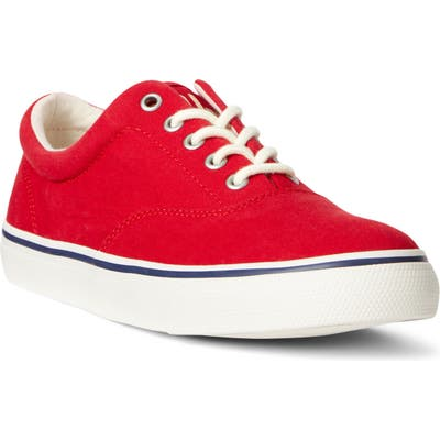 Polo Ralph Lauren Harpoon Sneaker, Red