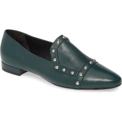 Agl Studded Loafer, Green
