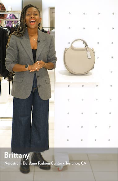 Hudson Faux Leather Canteen Tote, sales video thumbnail