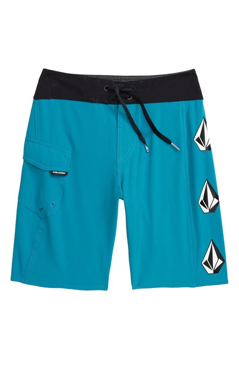VOLCOM Deadly Stones Mod Shorts, Main, color, CHLORINE