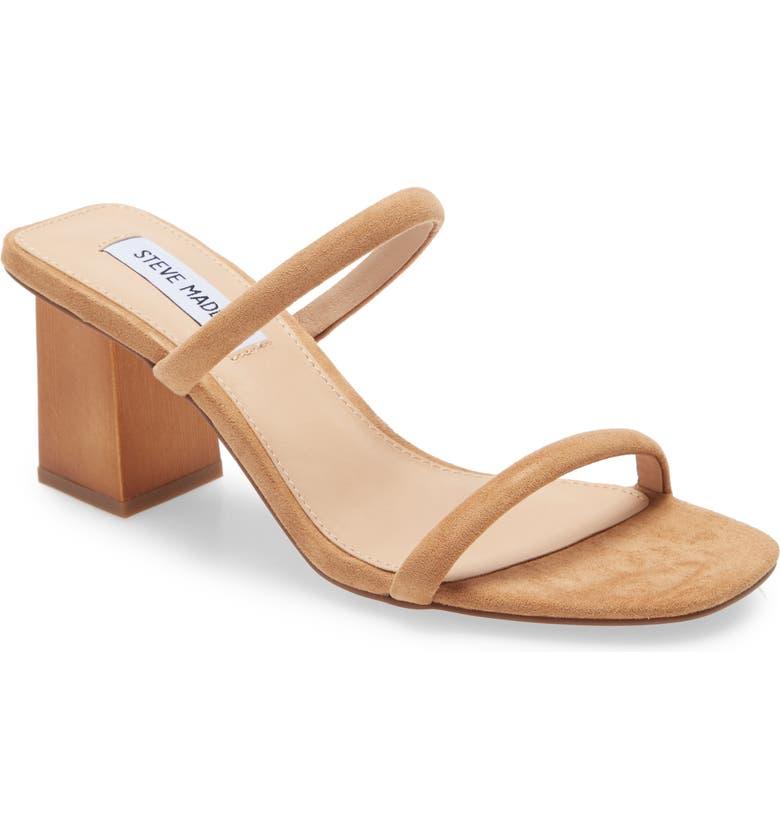STEVE MADDEN Honey Slide Sandal, Main, color, TAN