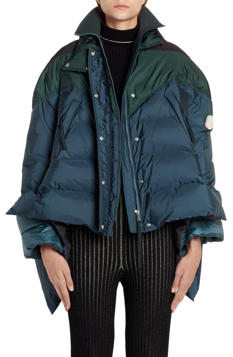 MONCLER GENIUS x 2 1952 High/Low Down Puffer Coat, Main, color, 417