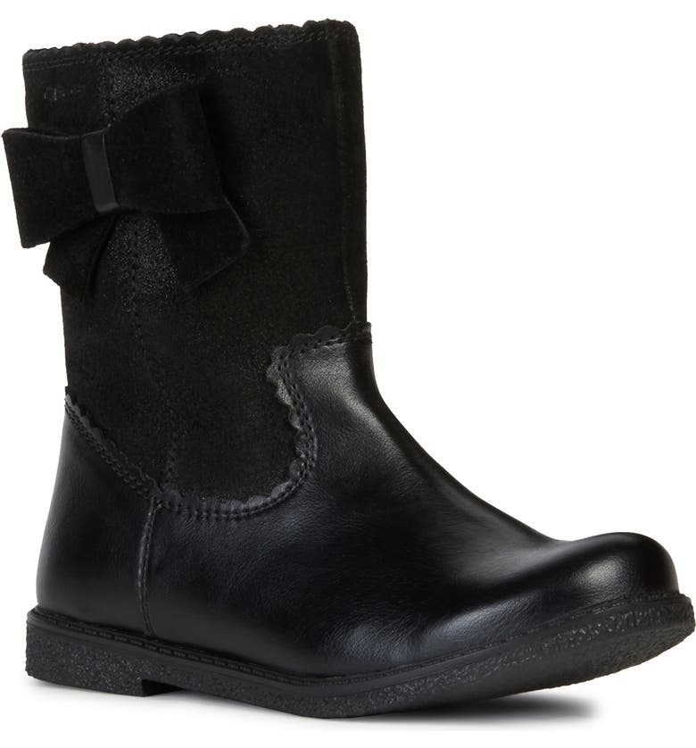 GEOX Shawntel 14 Boot, Main, color, BLACK
