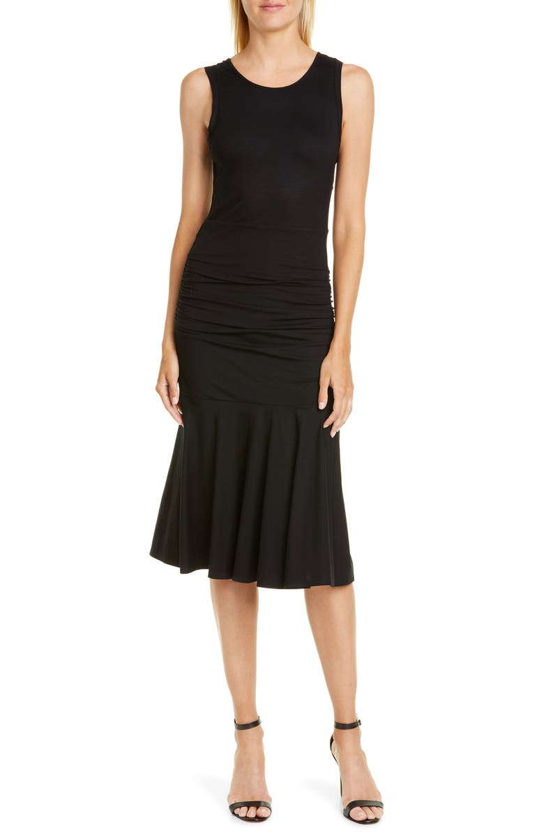 DVF Jace Ruched Drop Waist Sheath Dress | Nordstrom