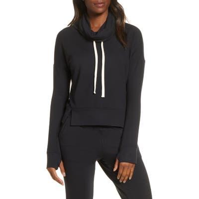 UGG Miya Funnel Neck Sweatshirt, Black