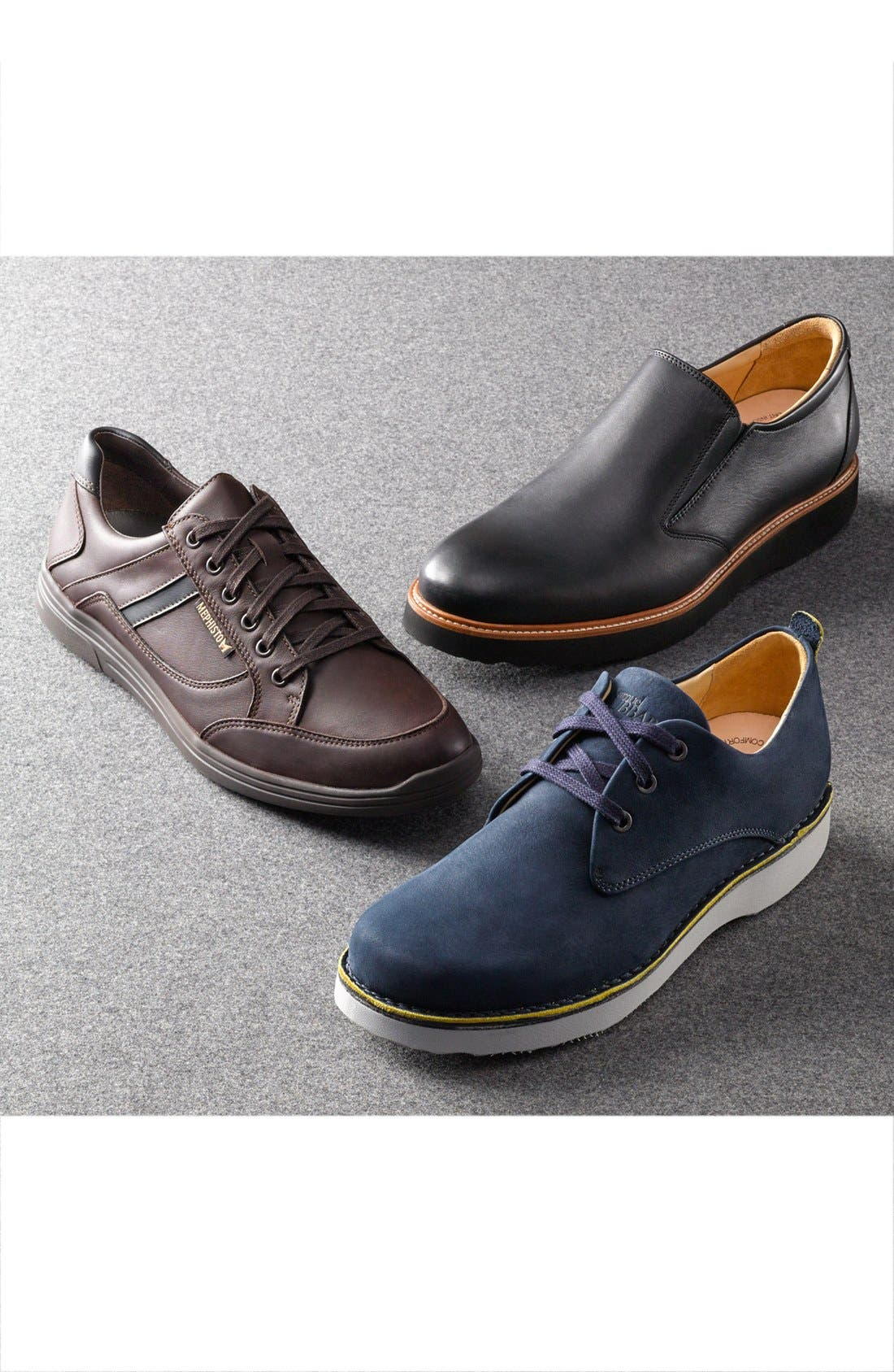 ,                             'Free' Plain Toe Derby,                             Alternate thumbnail 5, color,                             NAVY NUBUCK