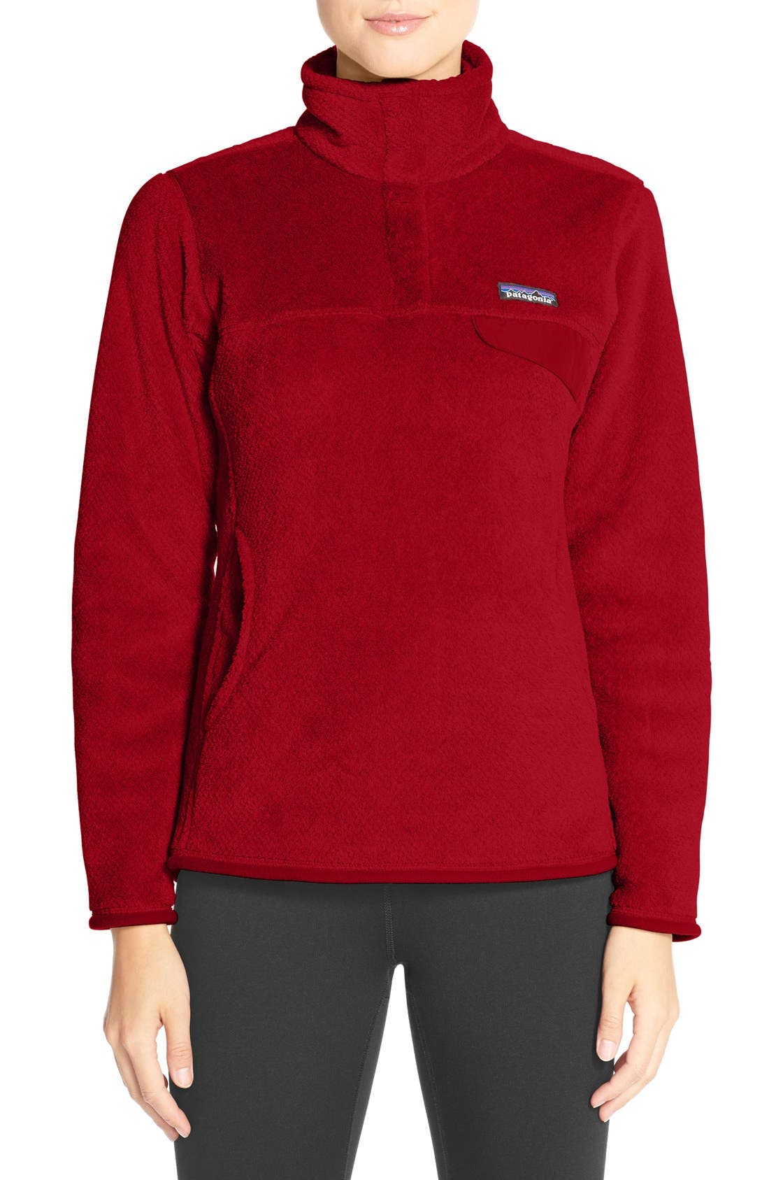 ,                             Re-Tool Snap-T<sup>®</sup> Fleece Pullover,                             Main thumbnail 175, color,                             602