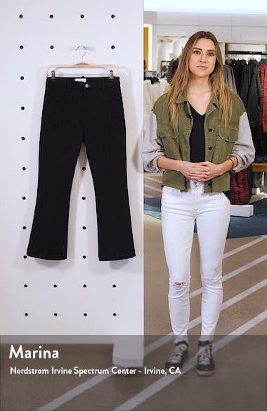 Le Bardot High Waist Crop Flare Jeans, sales video thumbnail