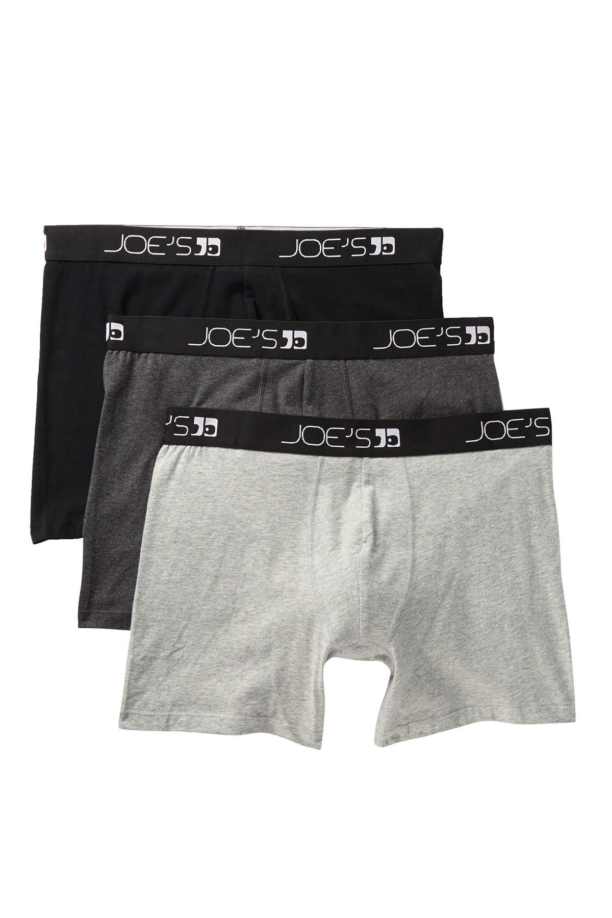 Image of Joe's Jeans Cotton Blend Boxer Briefs - Pack of 3