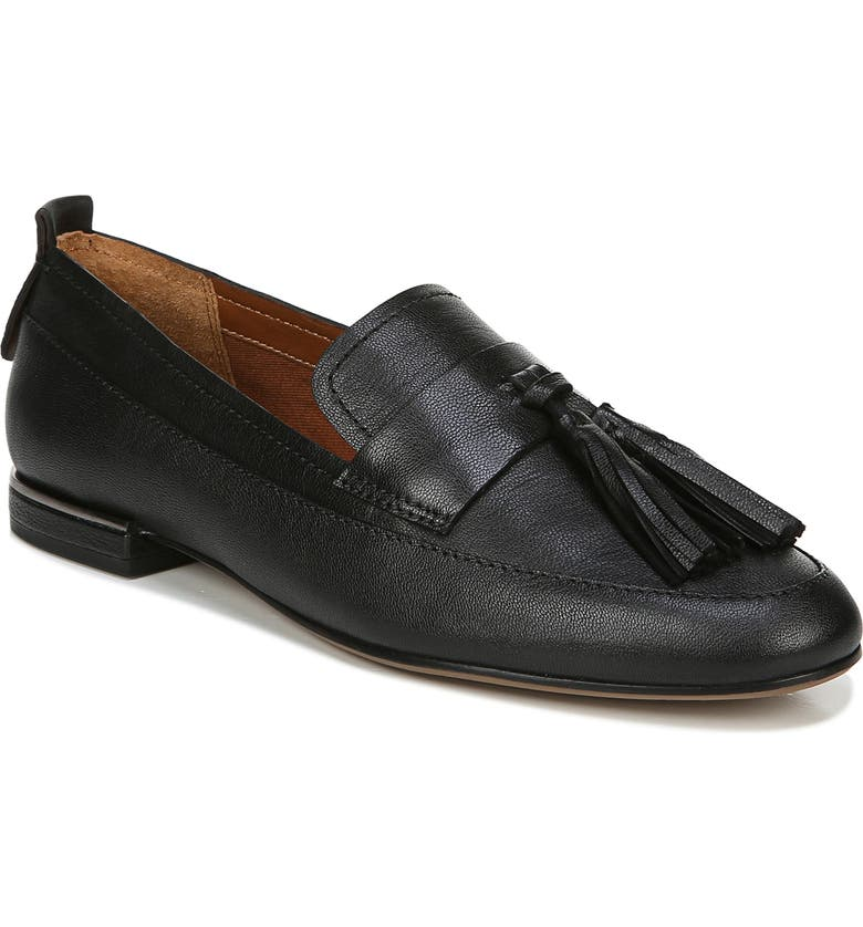 FRANCO SARTO Bisma Loafer, Main, color, BLACK LEATHER