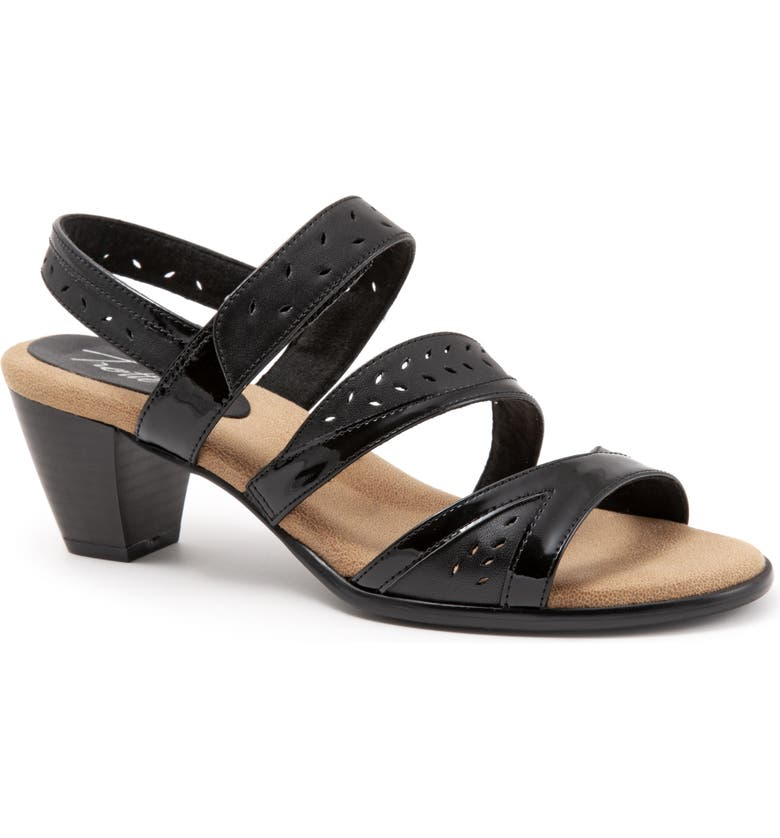 TROTTERS Marvie Perforated Strappy Sandal, Main, color, 007