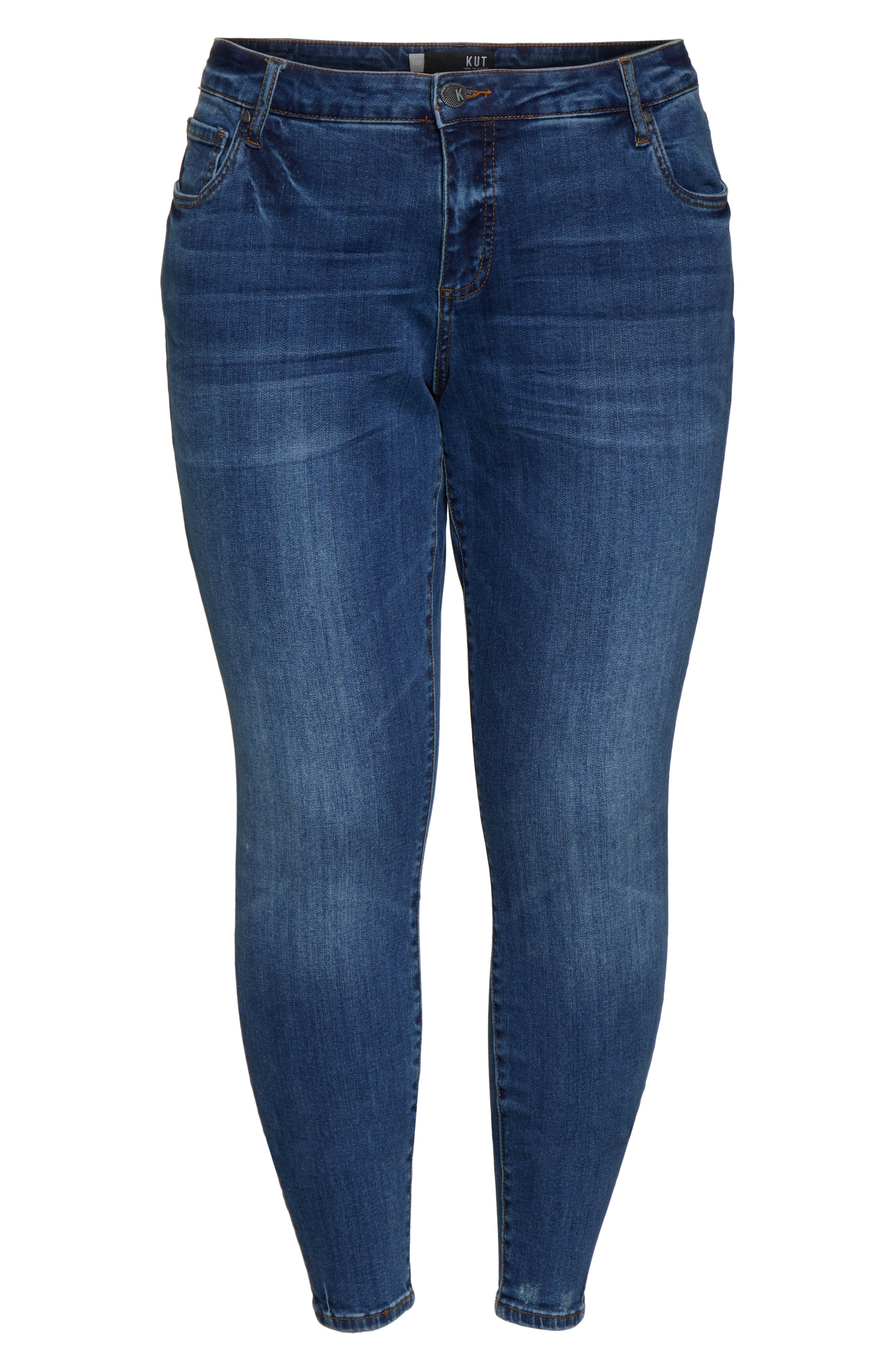 ,                             Donna Skinny Ankle Jeans,                             Alternate thumbnail 7, color,                             UNTOUCHABLE