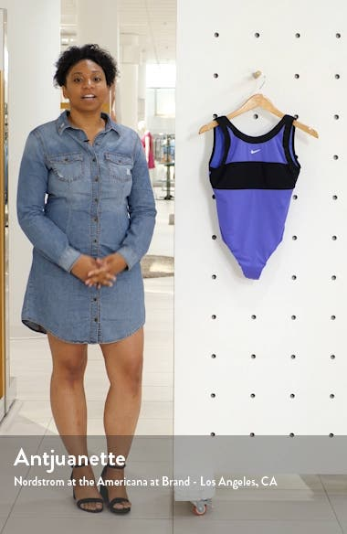 High Neck One-Piece Swimsuit, sales video thumbnail