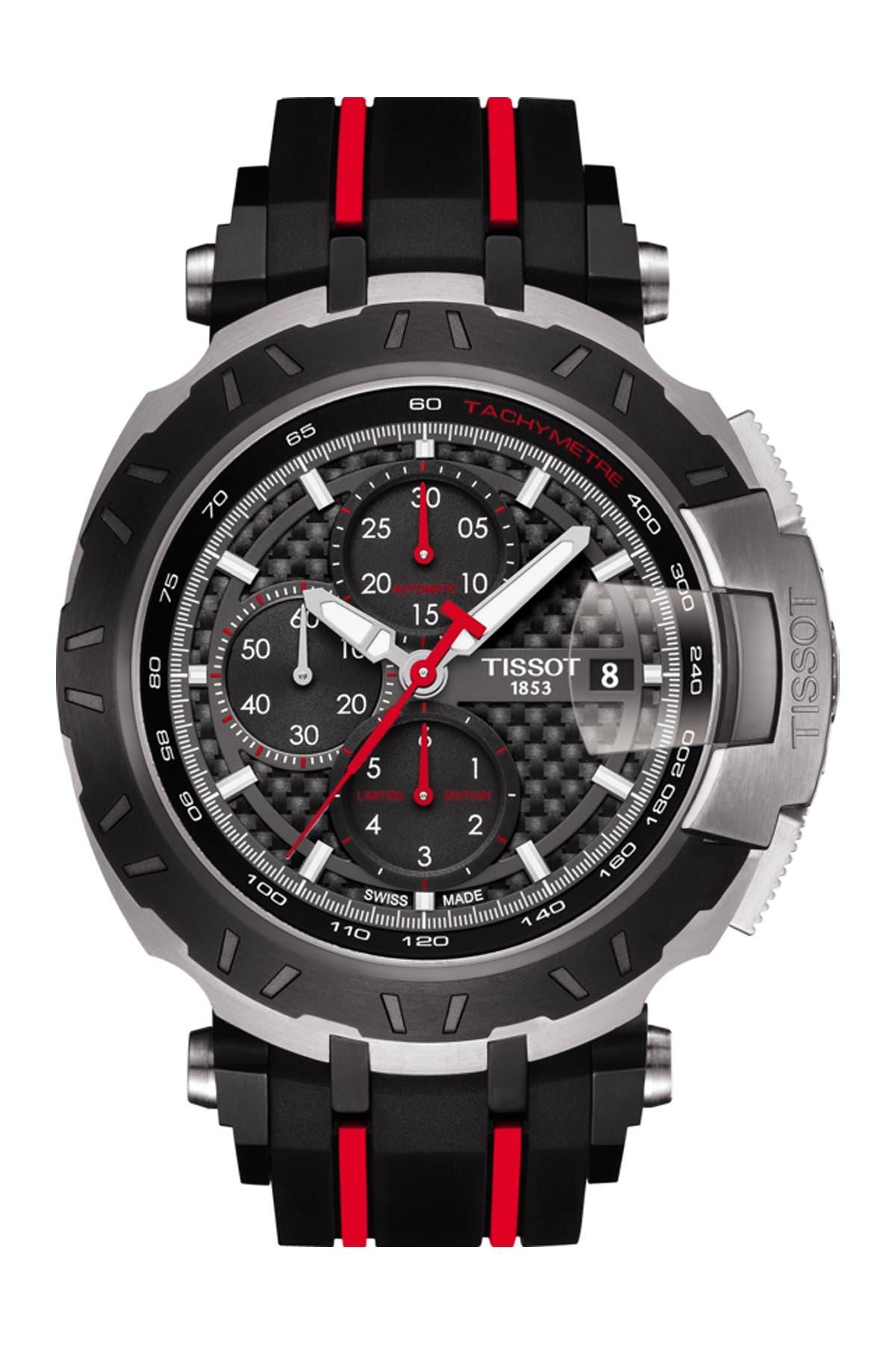 Image of Tissot Men's T-Race Moto GP 2016 Automatic Chronograph Watch, 47.25mm