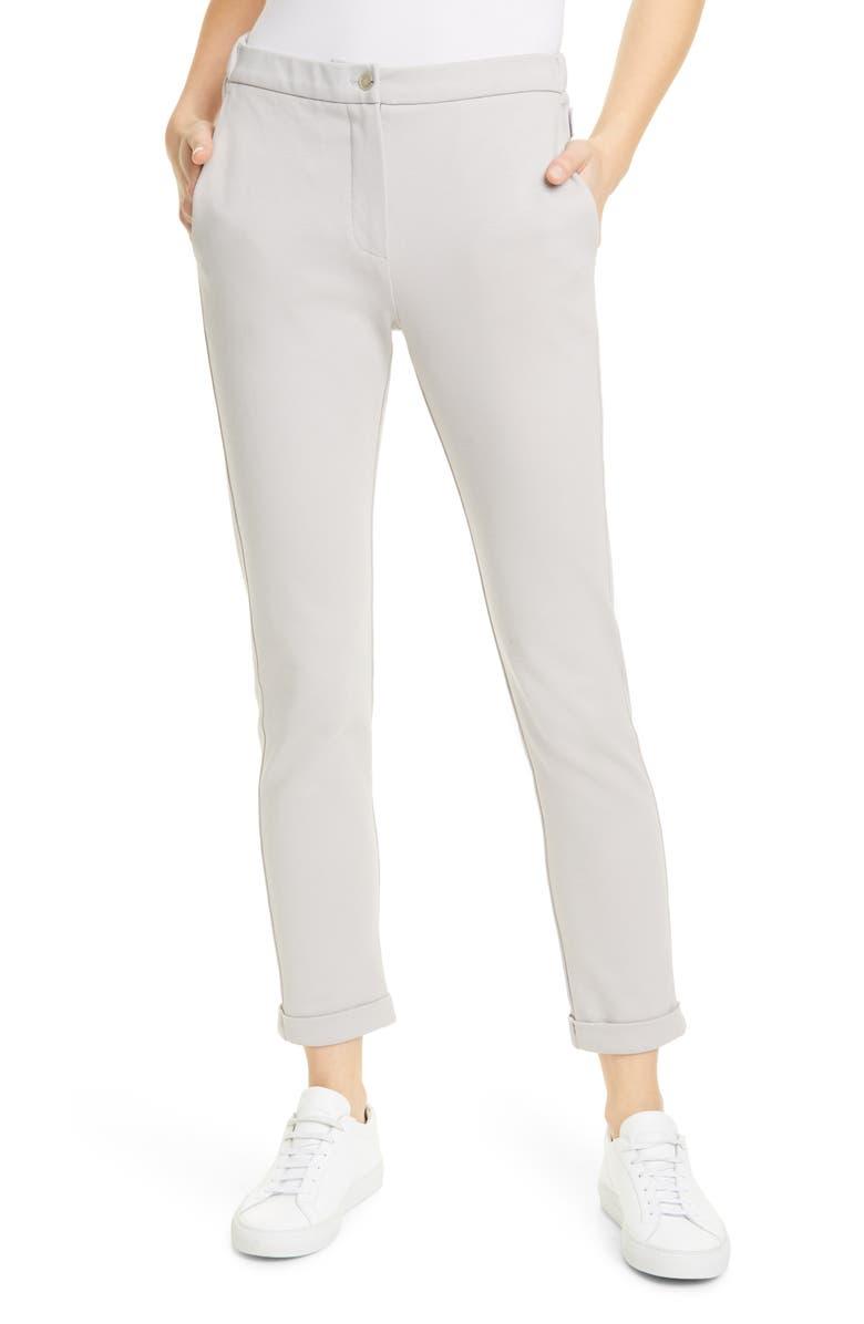 MAX MARA LEISURE Falasco Slim Knit Pants, Main, color, 037