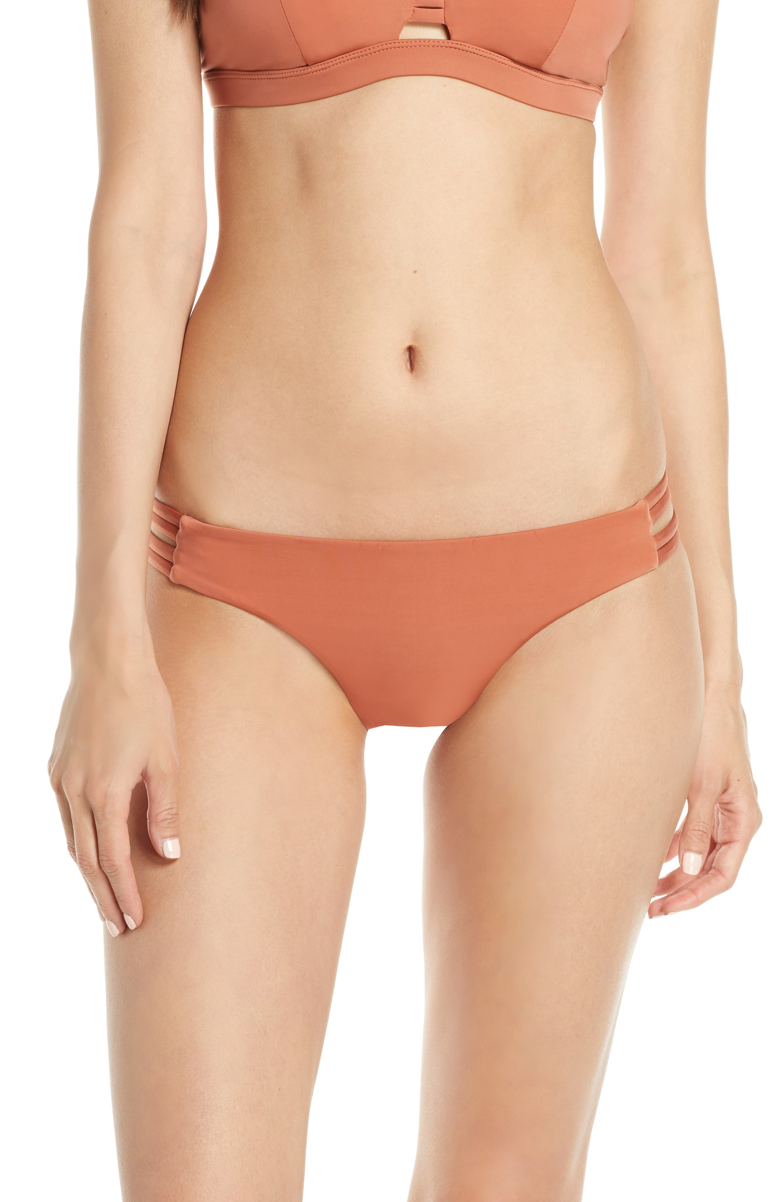 Hurley Quick Dry Max Surf Bikini Bottoms, Brown