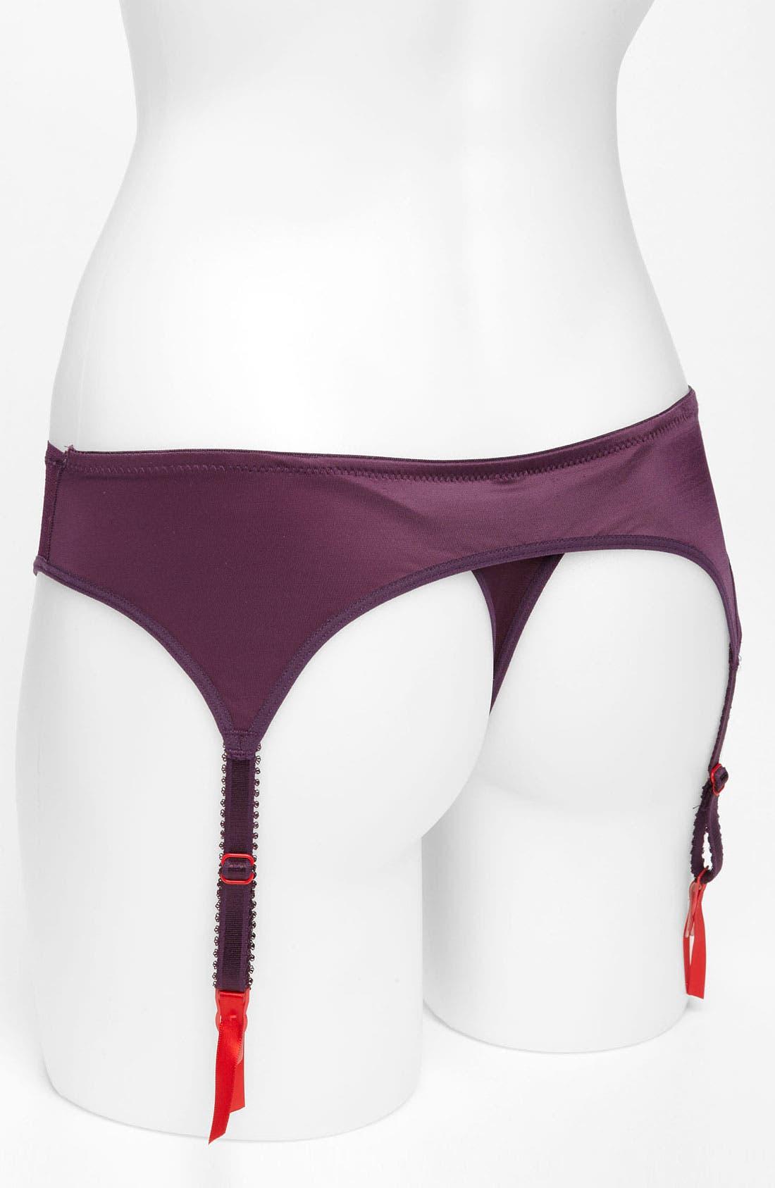 ,                             'Luscious' Garter Thong,                             Alternate thumbnail 8, color,                             644