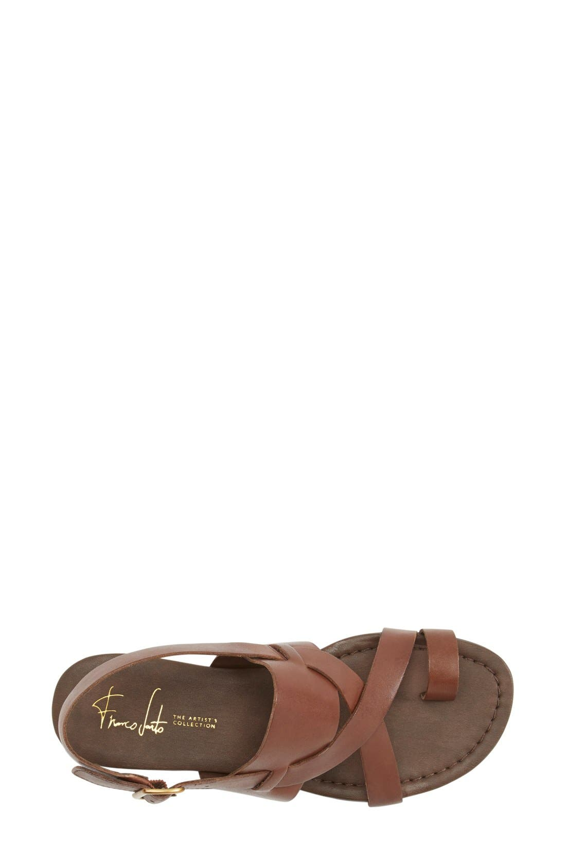,                             Gia Sandal,                             Alternate thumbnail 2, color,                             CHOCOLATE ANTANADO