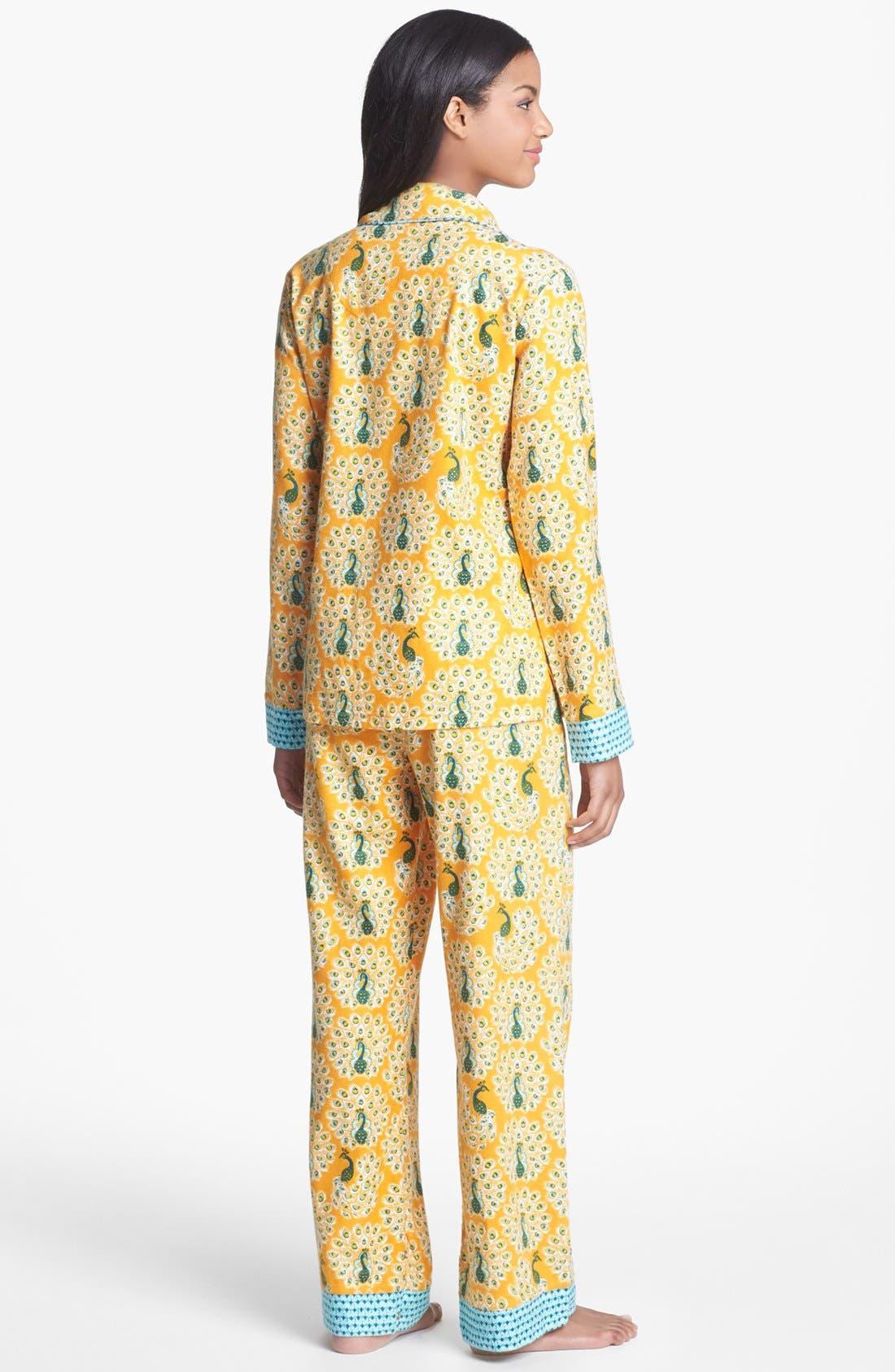 ,                             Flannel Pajamas,                             Alternate thumbnail 102, color,                             801