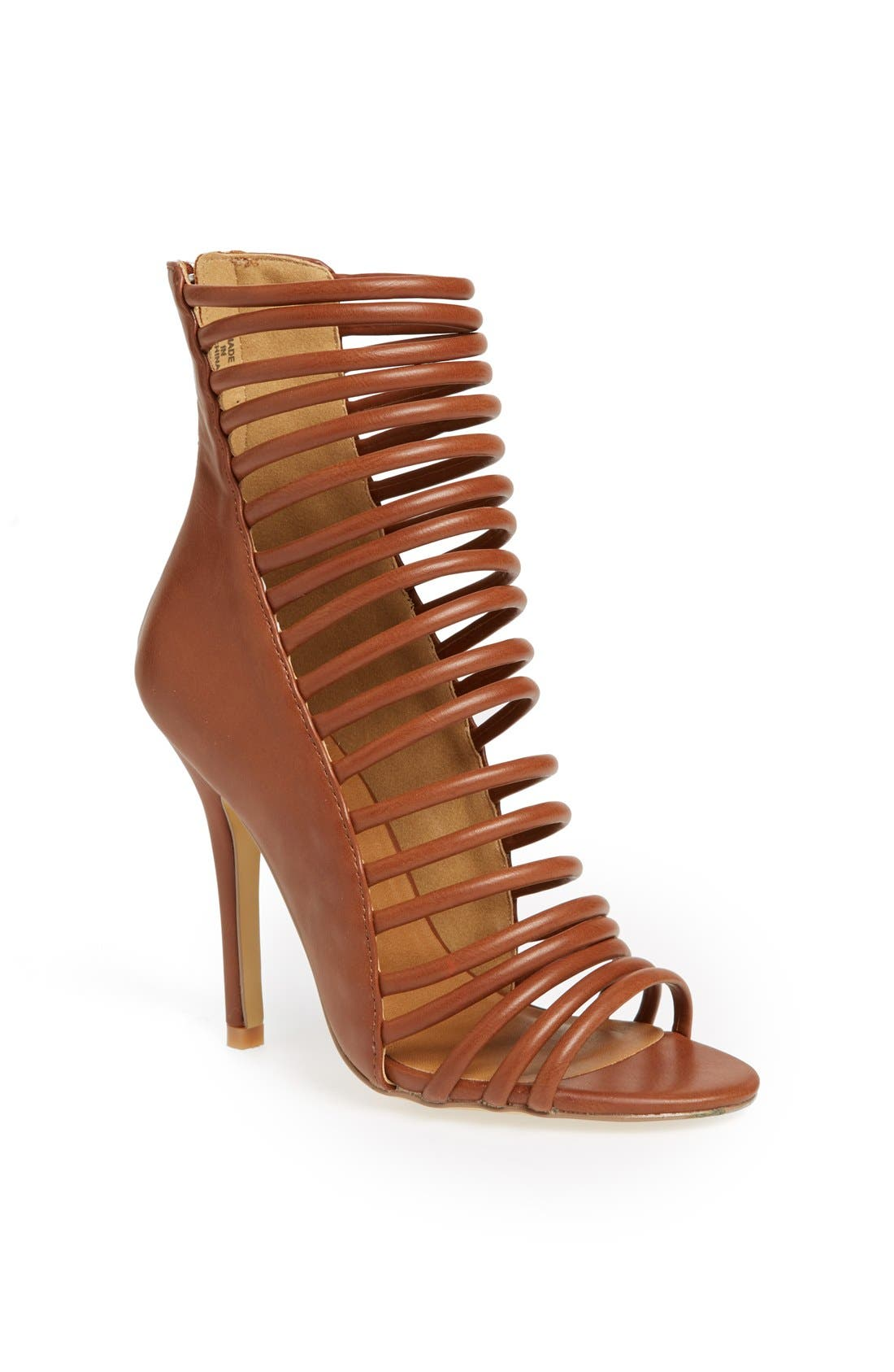 ,                             'Paco' Cage Bootie,                             Main thumbnail 5, color,                             200