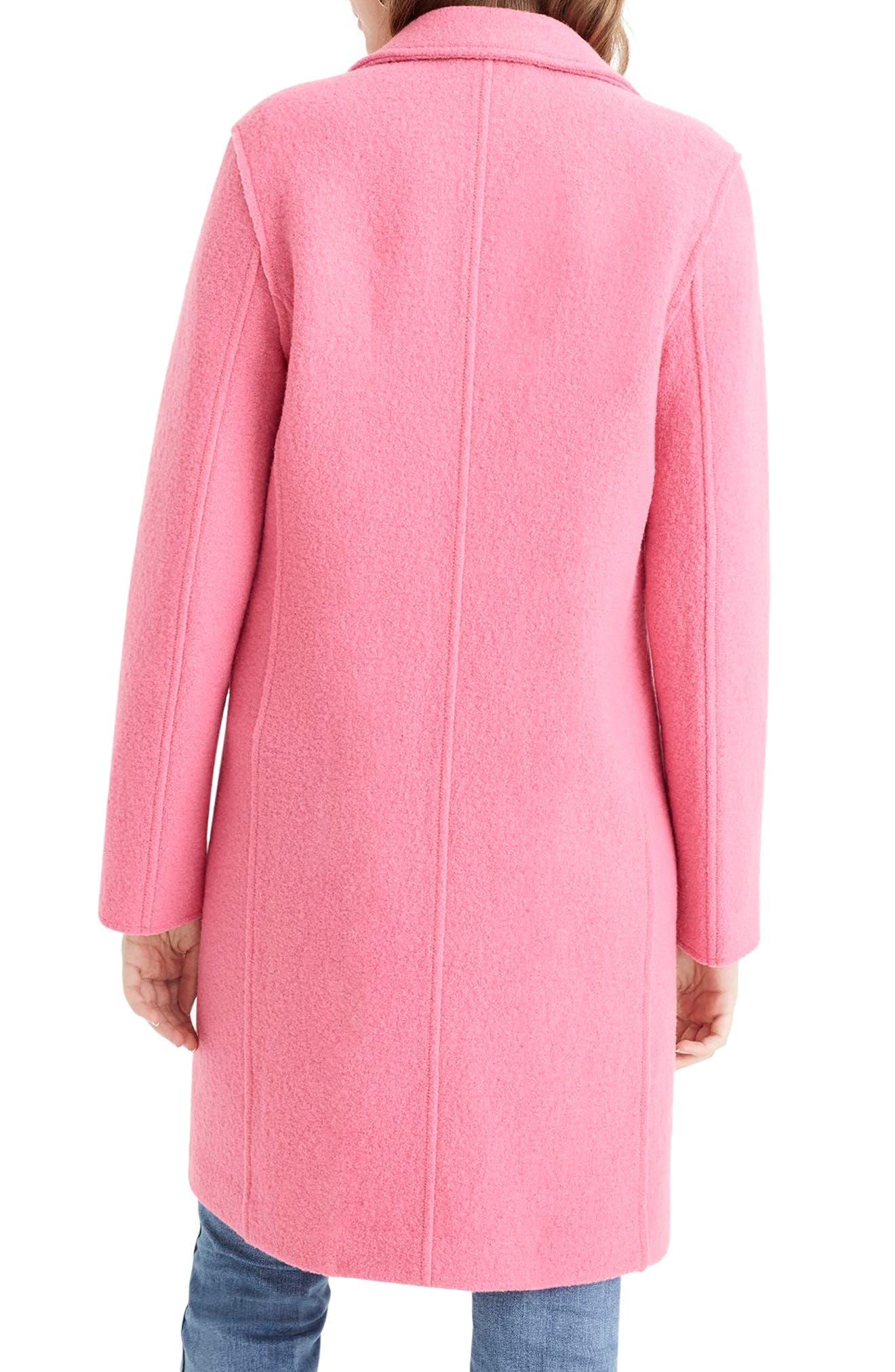 ,                             Daphne Boiled Wool Topcoat,                             Alternate thumbnail 48, color,                             650