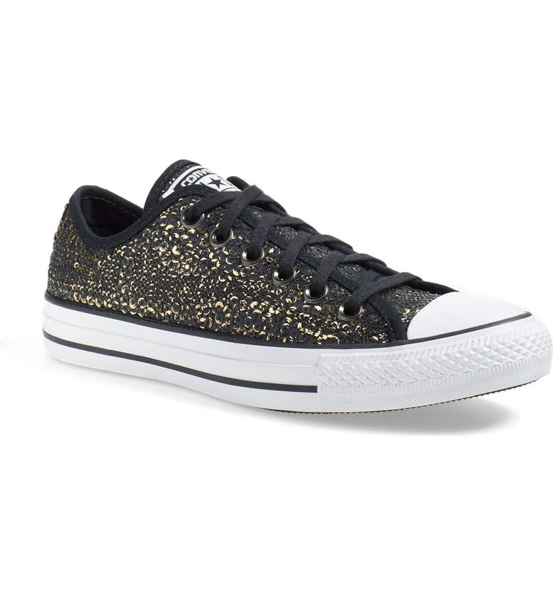 Chuck Taylor® All Star® 'Distressed Sequin Ox' Sneaker