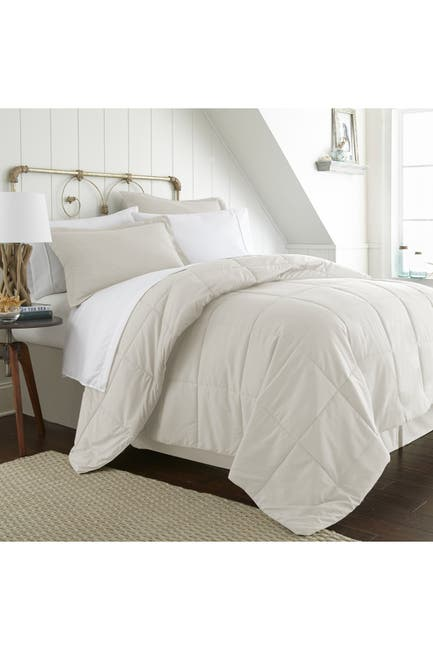 Image of IENJOY HOME King Premium Bed In A Bag - Ivory