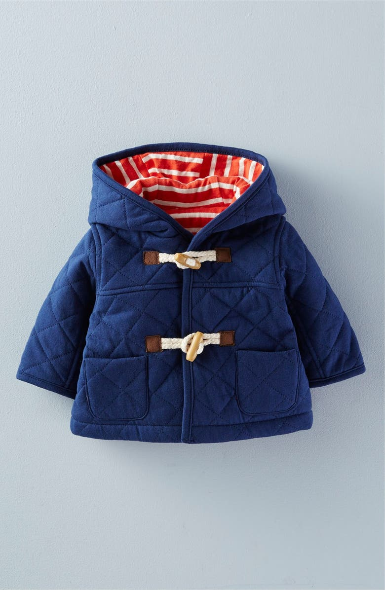 MINI BODEN 'Cosy' Quilted Duffle Jacket, Main, color, 404