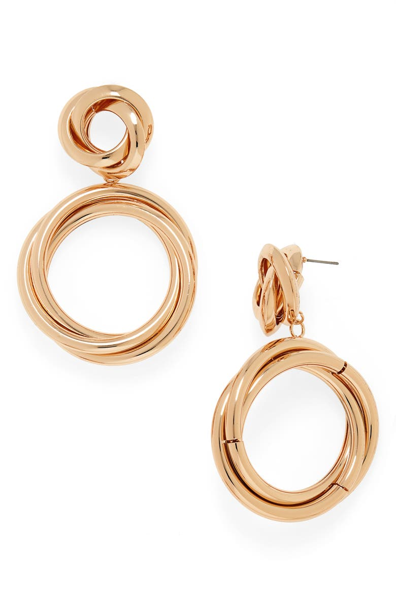 8 OTHER REASONS Chloe Duster Earrings, Main, color, GOLD