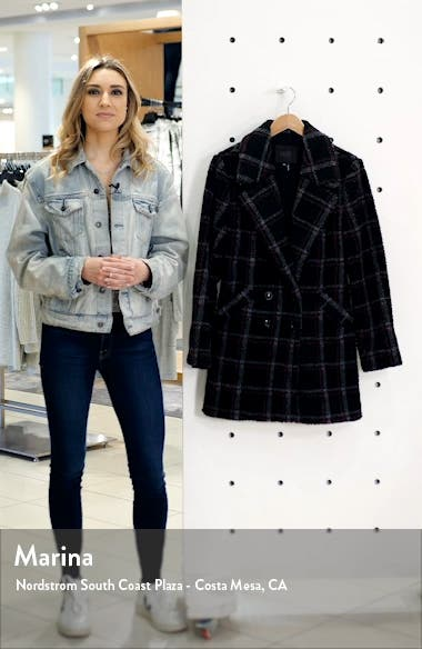 Sabinah Double Breasted Coat, sales video thumbnail