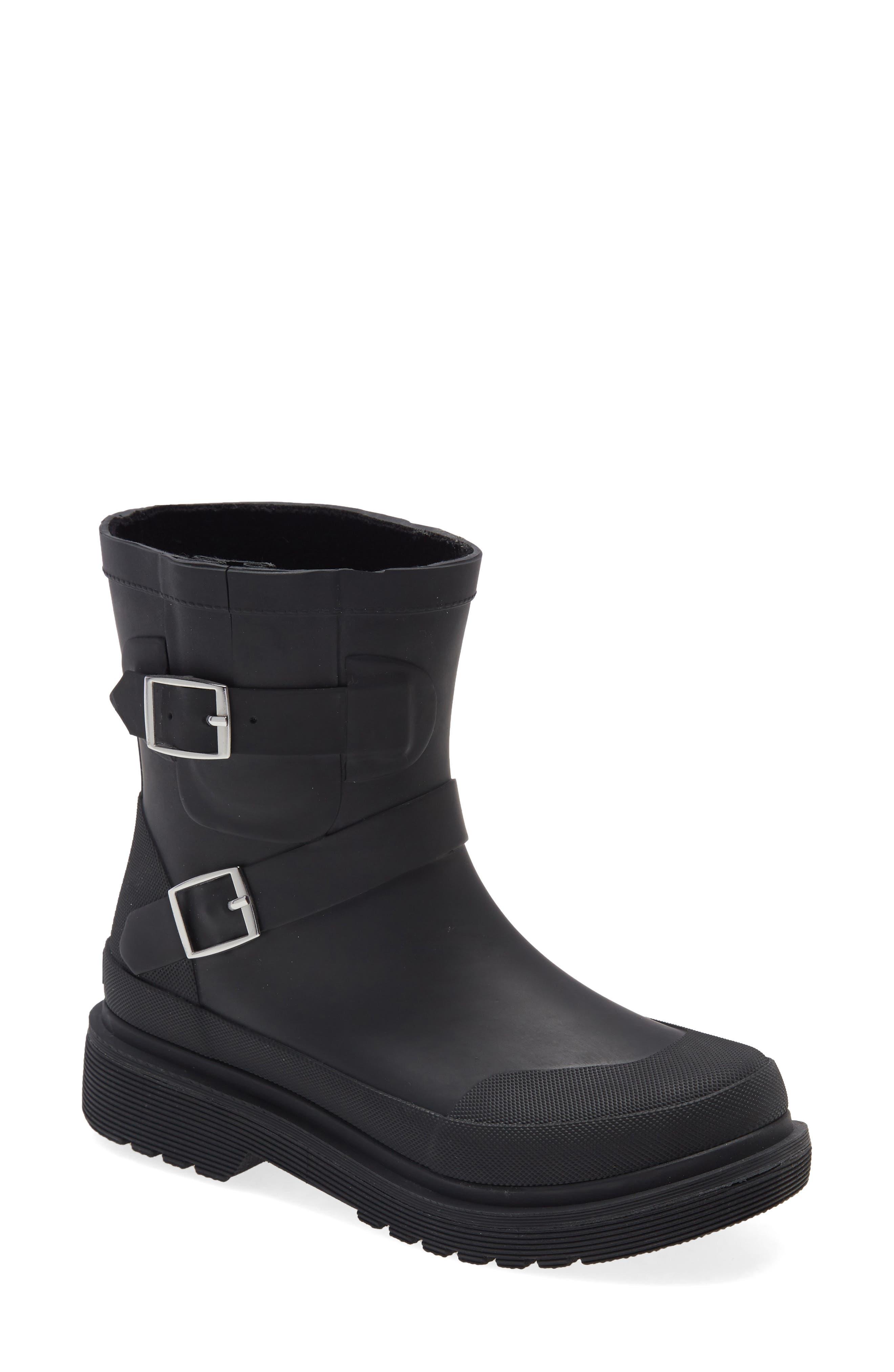 Moto Waterproof Rain Boot