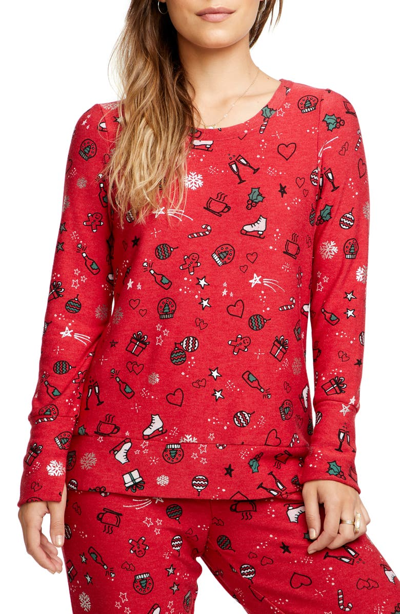CHASER Holiday Goodies Sweatshirt, Main, color, 600