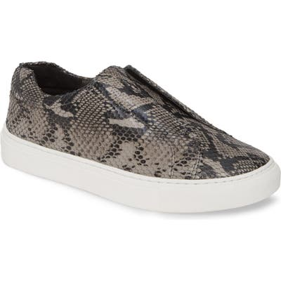 Jslides Luv Slip-On Sneaker- Grey