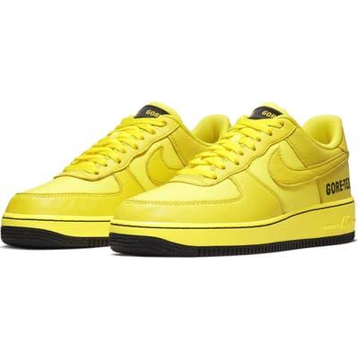 Nike Air Force 1 Gore-Tex Waterproof Sneaker- Yellow