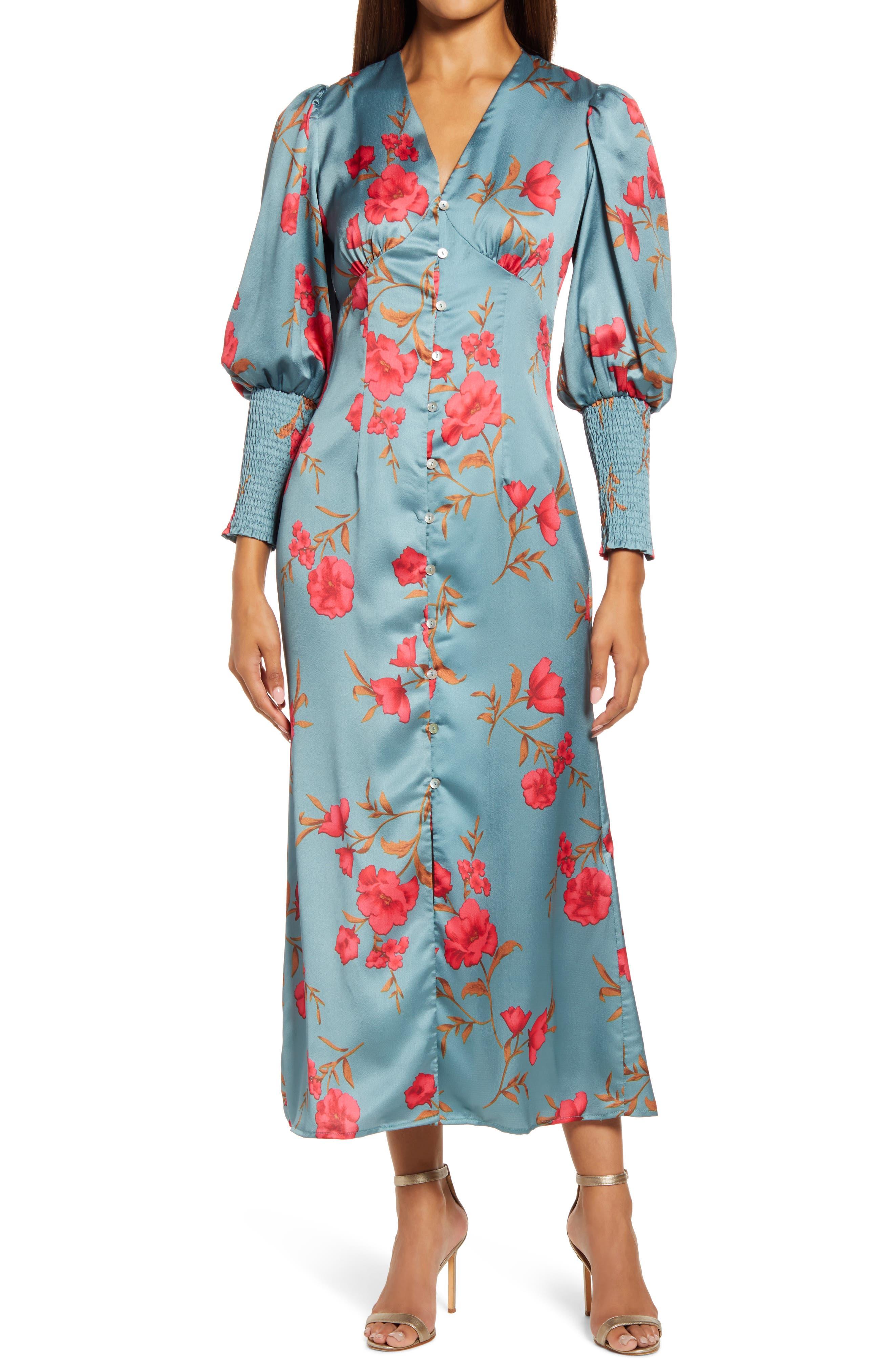 Shawna Satin Dress