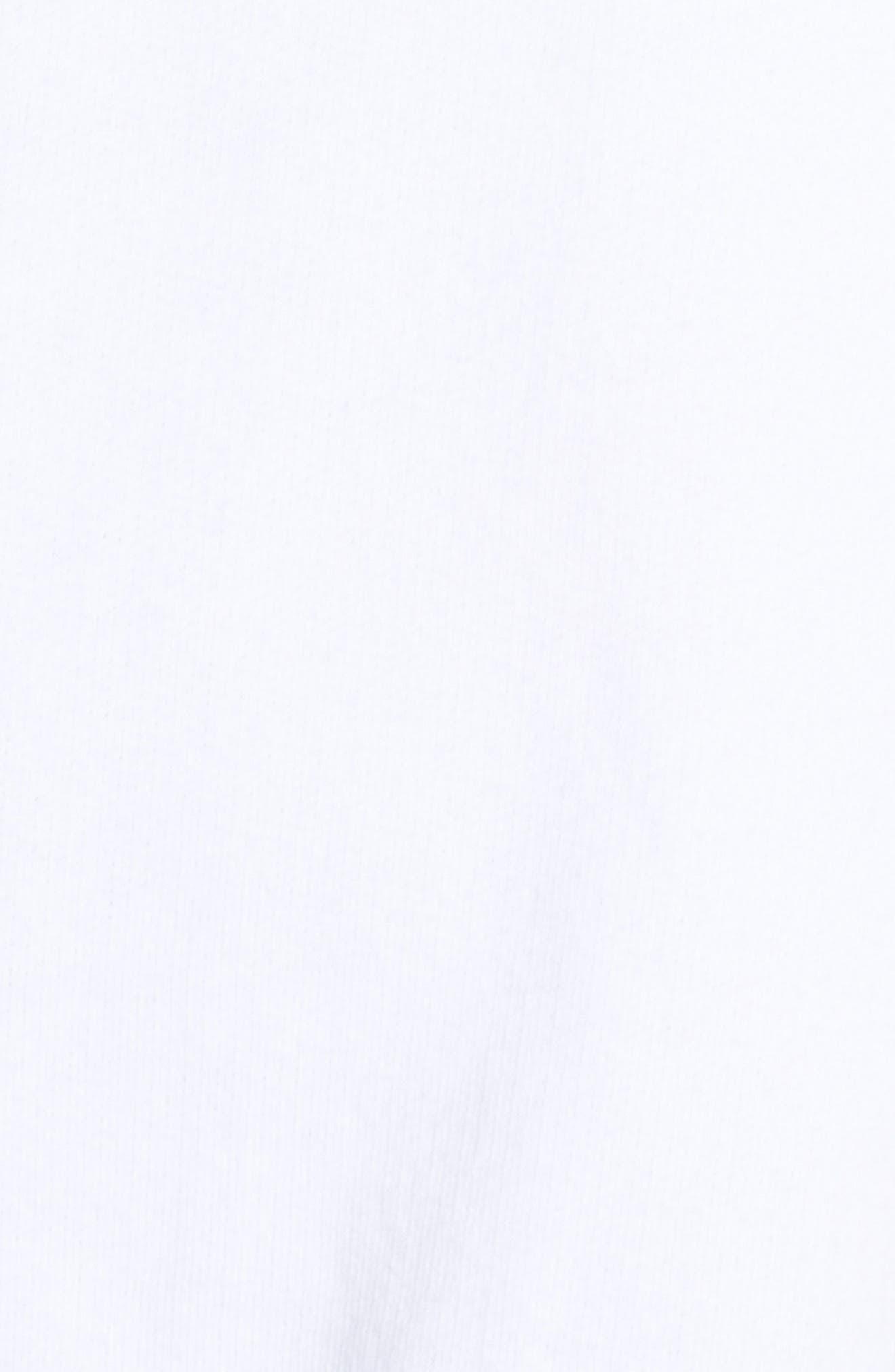 ,                             Highline Sweatshirt,                             Alternate thumbnail 6, color,                             WHITE/ BLACK
