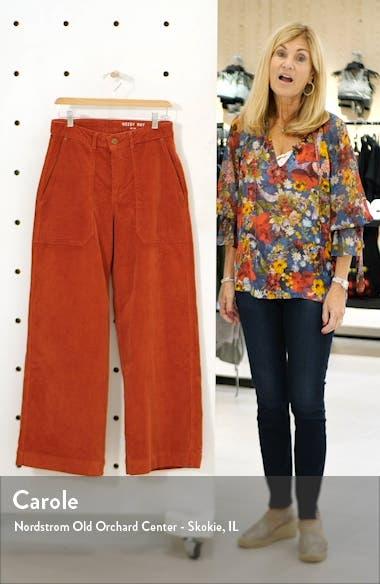 Milla Corduroy Wide Leg Pants, sales video thumbnail