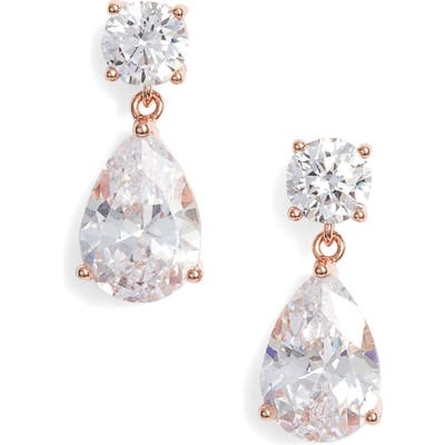 Nordstrom Cubic Zirconia Teardrop Earrings