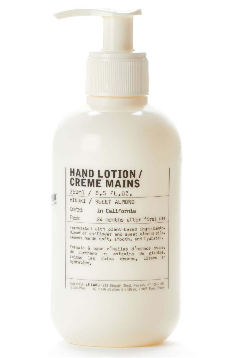LE LABO Hand Lotion, Main, color, NO COLOR