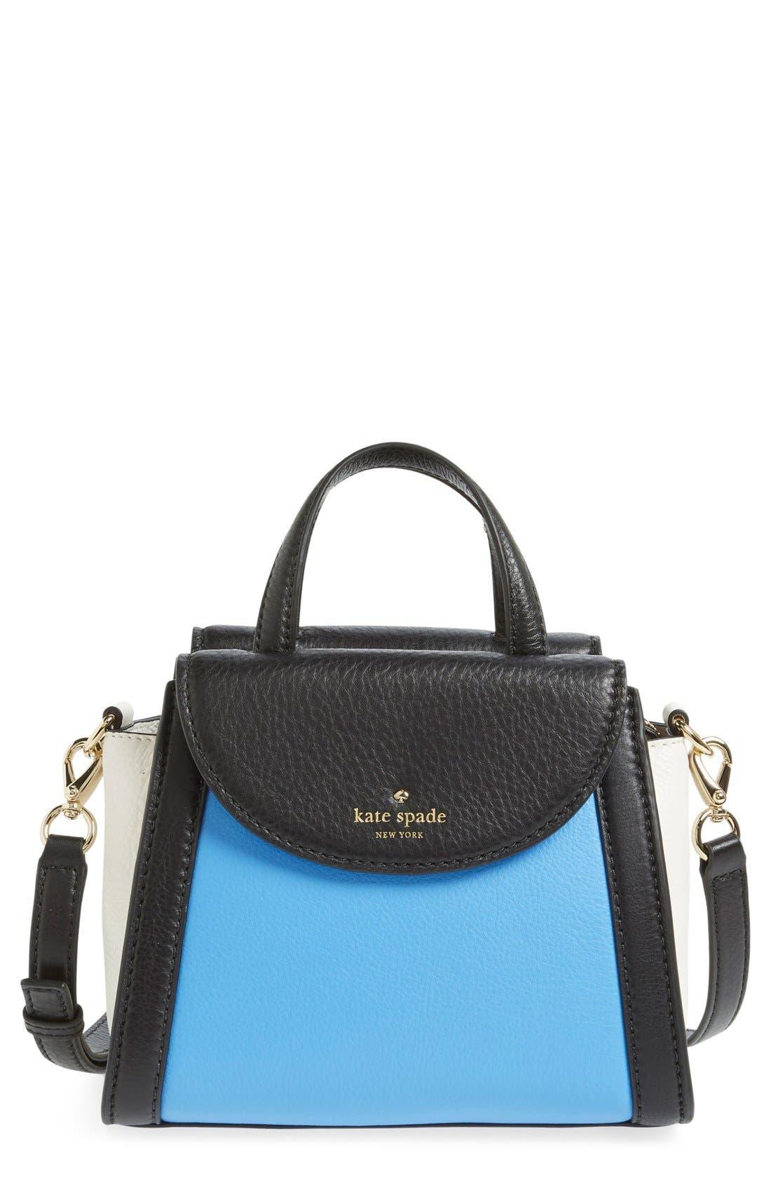 ,                             'cobble hill - small adrien' leather satchel,                             Main thumbnail 13, color,                             400